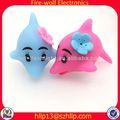 resplandor delfines de niños de juguete de plástico cuchillos regalos de los niños de juguete de plástico fabricante de cuchillos