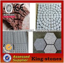 g603 grauem granit billige sechseck pflastersteine