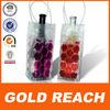 Portable wine chill gel tote carrier beer bottle cooler freeze champagne bag