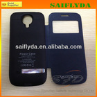 Hot selling for samsung galaxy s4 mini 3000mah external power case, backup battery case