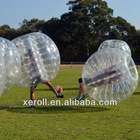 Fashionable sports entertainment inflatable human soccer bubble