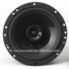 Coaxial car speaker A5-6D1 with patented texture injection cone