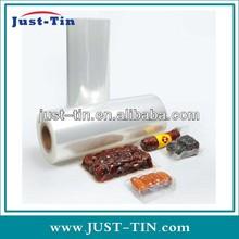 K-resealable clear plastic bag food vacuum sealer