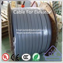 Vde y CE aprobado Flexible PVC de viaje plana elevador cable cable de paciente equipo de elevación