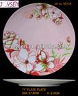 melamine flower cake plates