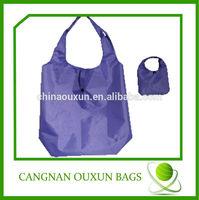 2014 customized fashionable smart foldable nylon bag