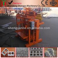 China Brick Machine For Sale / QTJ 4-40 B Paving Brick Making Machine / Hollow Block Making Machine For Sale