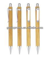 Eco friendly bamboo pen