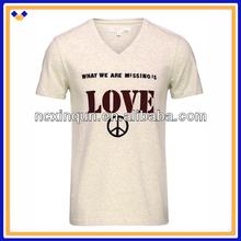 Cheap wholesale china plain print t-shirt for men made in china