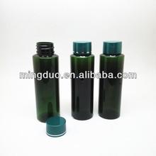 110ml green Plastic Cosmetic PET Cream Bottles,essential oil Lotion packaging Bottle