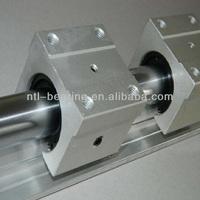 Aluminum linear guide and slide unit SBR40UU