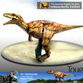 Meu dion- vida tamanho traje de dinossauro realista para venda