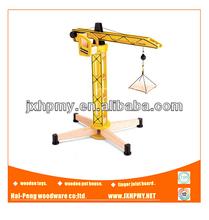 wood crane toy