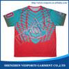 latest design sublimation sport training t-shirt
