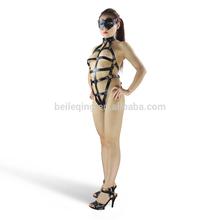 El hombre juguete del sexo, sexo arnés de cuero, fantasia fetiche 071