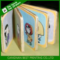 Hardcover child cardboard book printing,English story child book printing