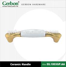 Golden Porcelain Handle