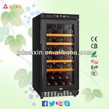 28 Bottles Mini Wine Cooler & Mini Drink Refridgerator SRW-28S