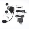500m full duplex V2-500C FM interphone bluetooth motorcycle helmet intercom