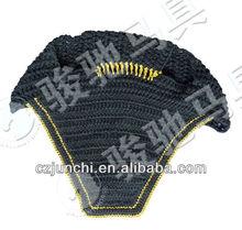 Glitter crochet veil for horse JC6F3011