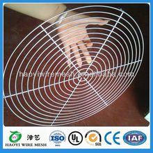 wire mesh fan guard/air conditioner fan guard grill 90mm 120mm 150mm