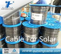 (Australia/Japan) Free Sea Freight pv cable 2.5mm2 100 watt solar panel
