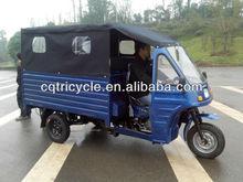 closed 3-wheel motorcycle bus