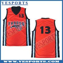Short sleeve basketball jersey