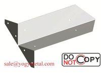 custom metal reinforced zinc plated corner brackets