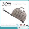 lattice scottish stylish travel trolley bags for women