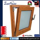 Aluminum Windows Tilt &turn window and meet Australia AS2047 / AS2208 Standard Glass