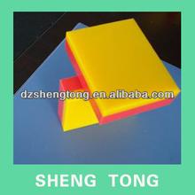 AB double color High density polyethylene plasitc sheet,engravable HDPE sheet