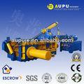 Aupu y81-160 caliente de la venta de maquinaria de prensa de chatarra de metal de certificación ce