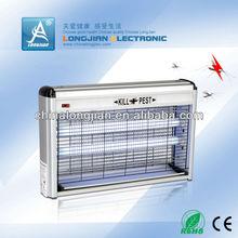 Electronic UV lamp bug zapper aluminum box pest control