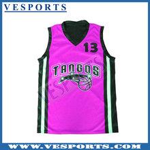 Basketball uniform design red