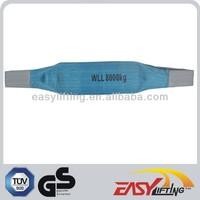 Blue 8T Polyester Fiber lifting Sling