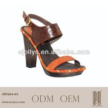 fashion summer high heel shoes size 34