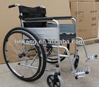 High quality manual steel wheelchair