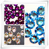 China Best Quality Crystals Wholesale Non Hot Fix Clear and Flat-Back Rhinestones with Various Sizes and Colors