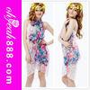 2015 New design beautiful flower printed sexy sarong batik pekalongan