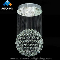 lustre crystal lamp
