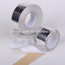 Feuille d'aluminium ruban renforcé