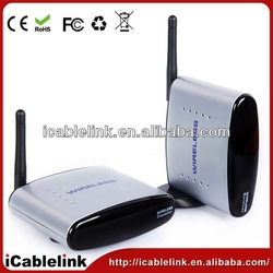 2014 cheap digital hd av 2.4GHZ 6 channels ir sensor wireless transmitter