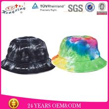Design Your Own Fashion Cotton Cheap Bucket Hat Plain Wholesale Tie Dyed Bucket Hat