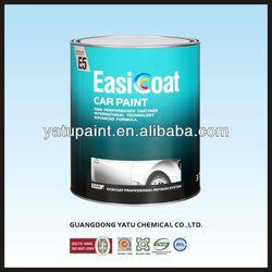 1K Solid Color Car Paint Transparent White E5