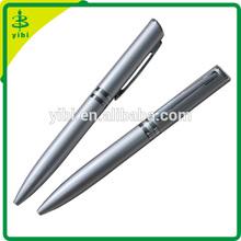 JD-C1003 new fashion hotel silver promotional logo twist ball point pen