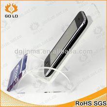 Su misura mobile camion schermo, acrilico display del telefono cellulare di carta rack
