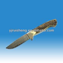 High Quality Pakistan Damascus Knife with bone handle