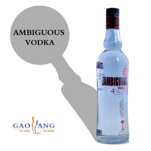 Goalong factory from China professional produces and exports 500ml vodka