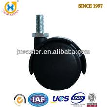 2 inch Dual Wheel Nylon Furniture Caster,caster nylon wheel